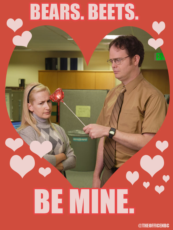 the office  valentine u0026 39 s day quotes photo  609721